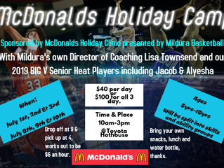 July School Holiday Camp