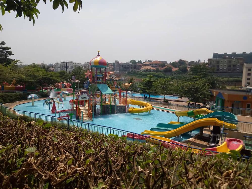 Wasserpark in Kampala