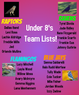 Under 8's Team Lists Announcement
