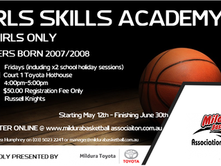 U12 GIRLS SKILLS ACADEMY