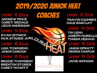 Junior Heat Coaches 2019/2020 Season Announced
