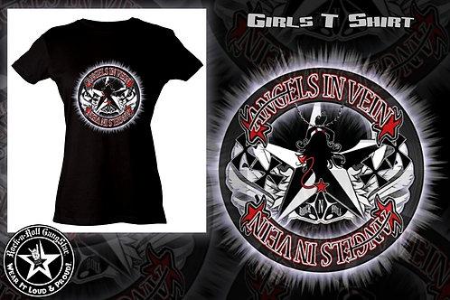 Angels in Vein Girls T-Shirt