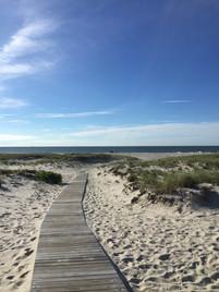 18th St beach path