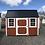 Thumbnail: 8x12 Lofted Barn Side entry