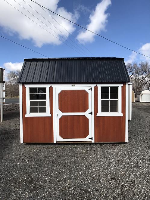 8x12 Lofted Barn Side entry