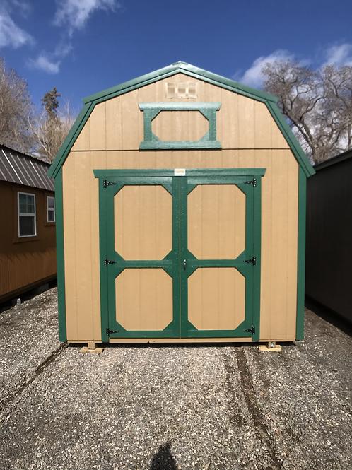 10x16 Lofted Barn Front Entrance