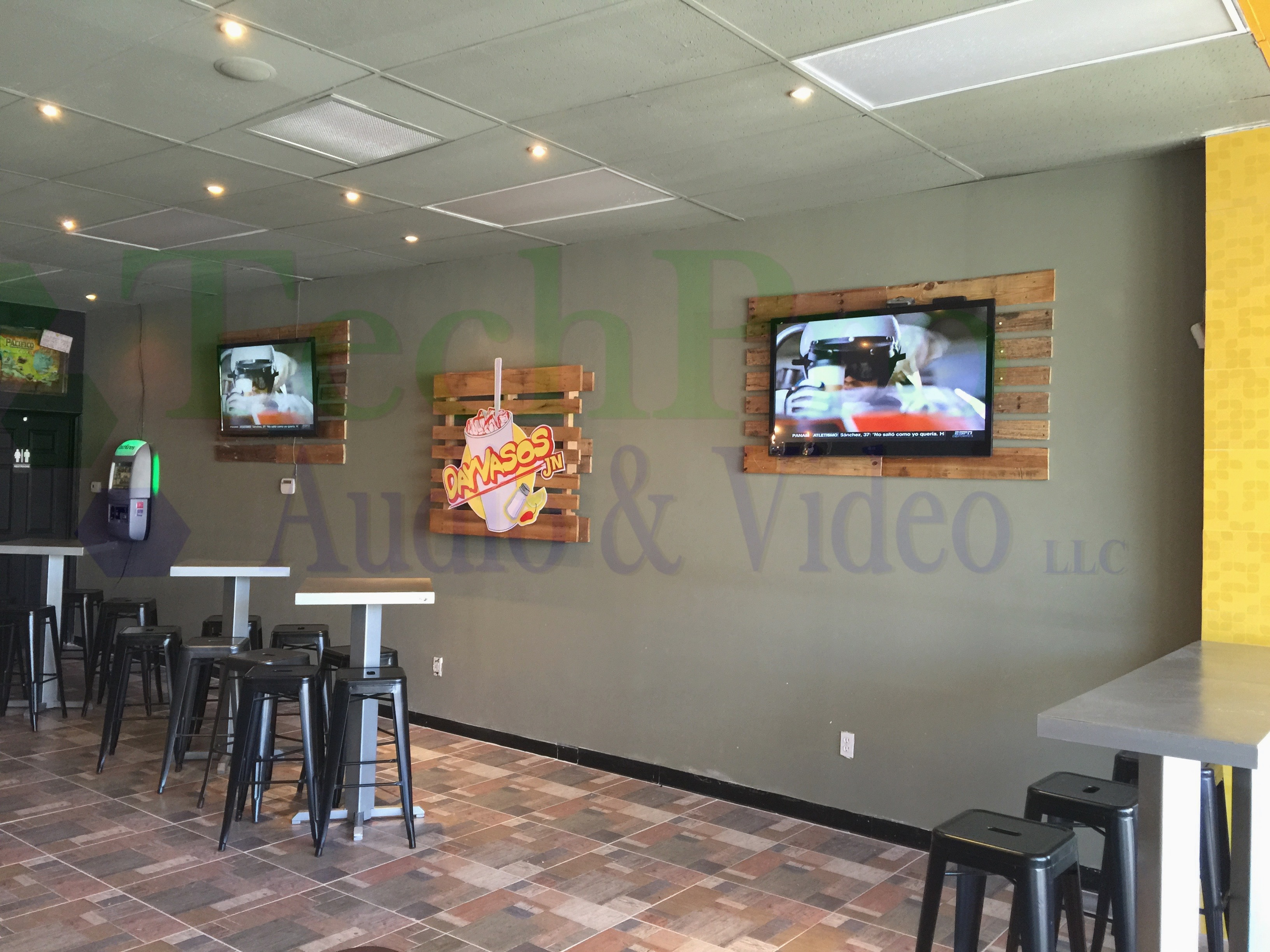 El Paso Commercial TV Mounting