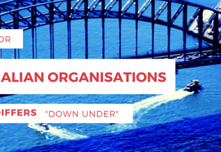 "Buying for Australian Organisations - How it Differs ""Down Under"""