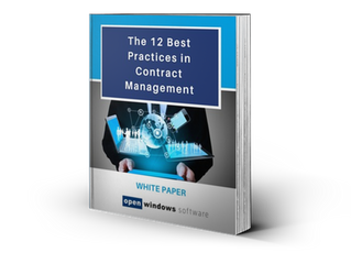 The 12 Best Practices in Contract Management