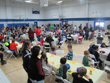 Thanksgiving Dinner Feeds 300
