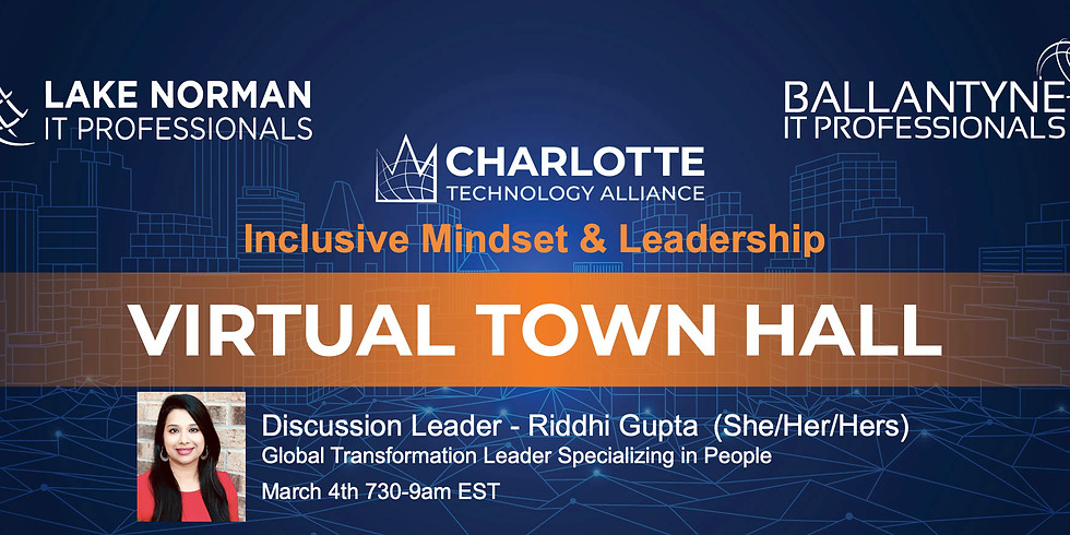 Virtual Town Hall  - Mar 4