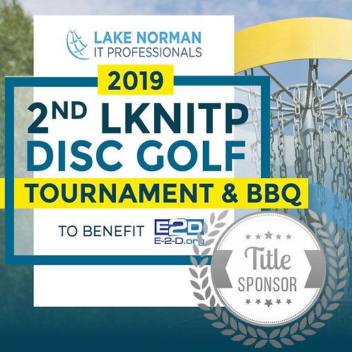 Title Sponsor 2019 LKNITP Disc Golf Tournament