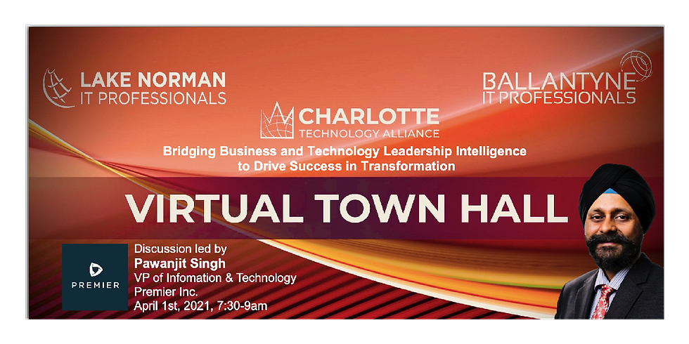 Virtual Town Hall  - Apr 1