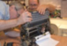 Adam and Mitch fixing typewriter 3 (1).J