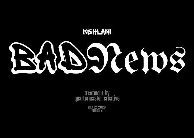 KEHLANI - BAD NEWS - QM - MAY12-compress