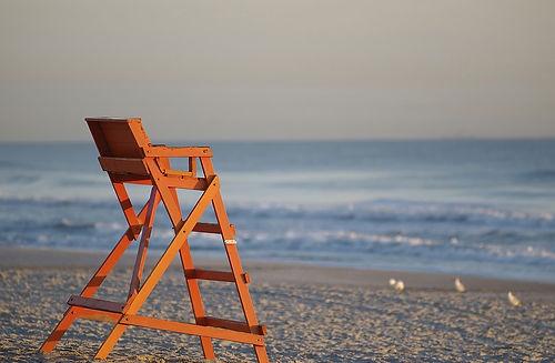 Jacksonville Beach, Neptune Beach, Atlantic Beach, beach chair