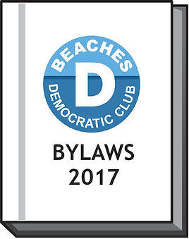 Beaches Democratic Club bylaws