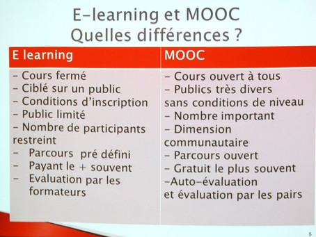 MOOC & SPOC : nouveaux acronymes en santé