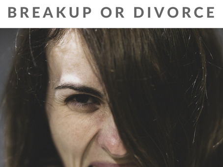 How to Let Go of Bitterness after a Breakup or Divorce