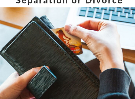 Becoming Financially Independent after Separation or Divorce