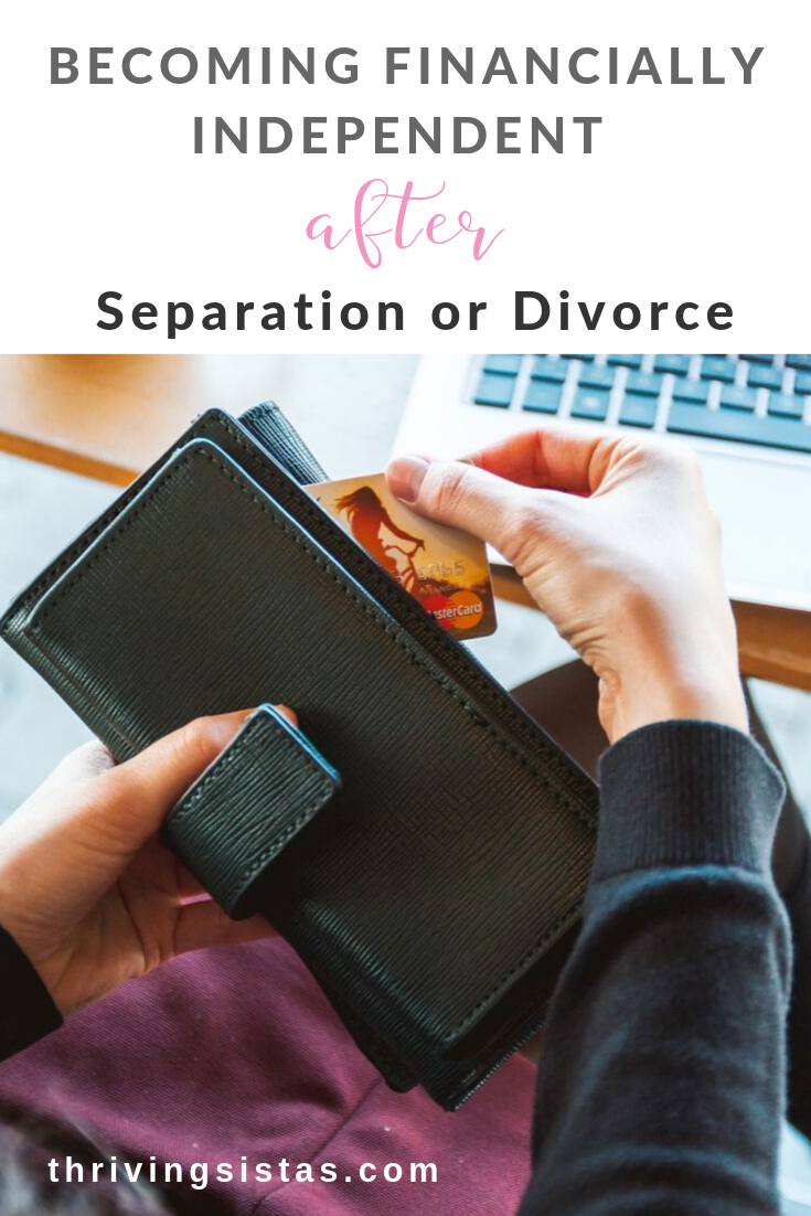 Financially independent separation divorce
