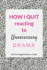 Unnecessary drama