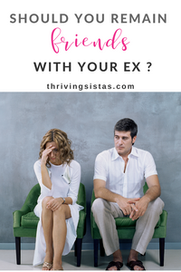 should you remain friends with your ex