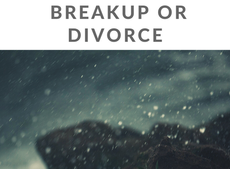 4 Reasons you're NOT Healing from Your Breakup or Divorce