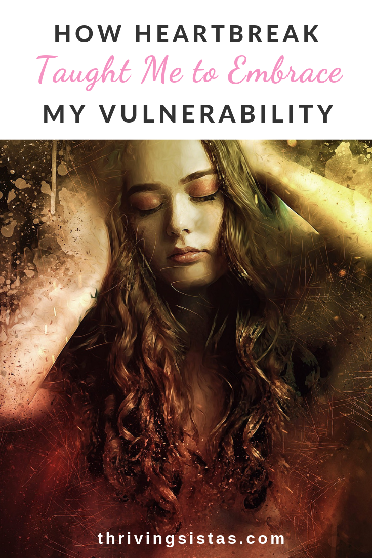 woman embracing vulnerability