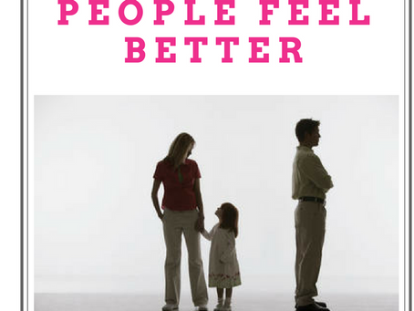 Why it is Not Your Responsibility to Make People Feel Better