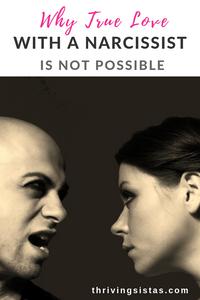 true love narcissist not possible
