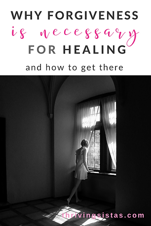 Why Forgiveness is Necessary for Healing – And How to Get There