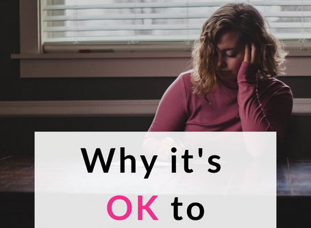 Why It's OK to Feel Sad