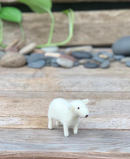 Daisy - Needle Felted Lamb