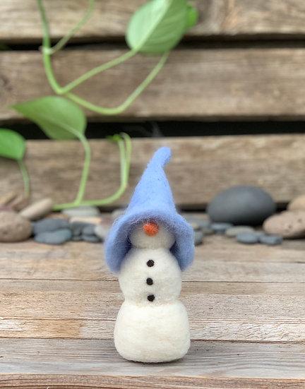 Needle Felted Snowwoman