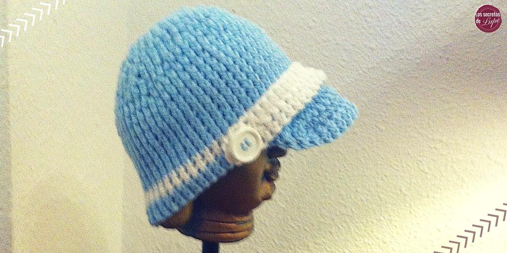 Cómo hacer un gorro tejido en crochet para bebé? | Trucos de ...