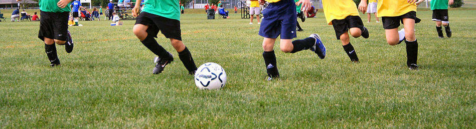Christian Students playing soccer