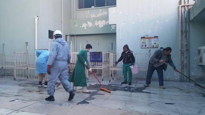 Ibn al-Atheer children's hospital in Mosul