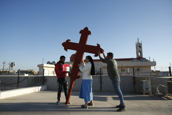Iraq's struggling Christians hope for boost from pope visit