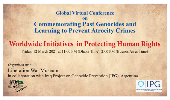 Iraq Project Founders Speak at the First Global Virtual Conference on Commemorating Past Genocides