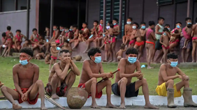 Covid deaths of Yanomami children fuel fears for Brazil's indigenous groups