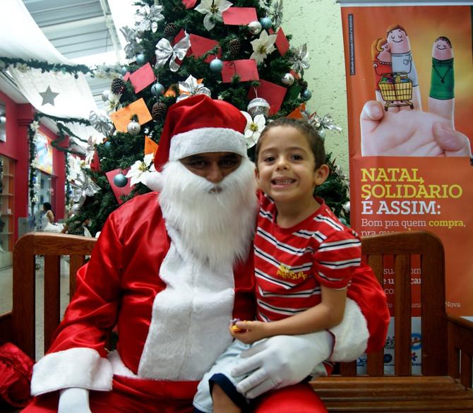 Venha visitar o Papai Noel na Cooperouro