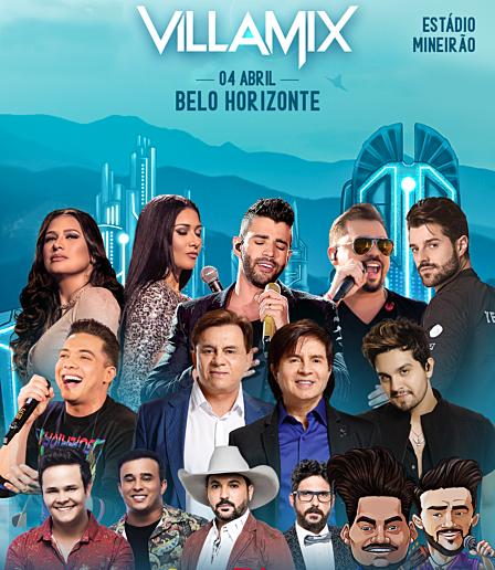Cooperouro e Friboi sorteiam ingressos para o Villa Mix BH