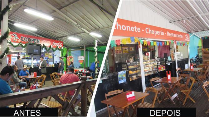 Conheça a nova Lanchonete, Choperia e Restaurante Cooperouro