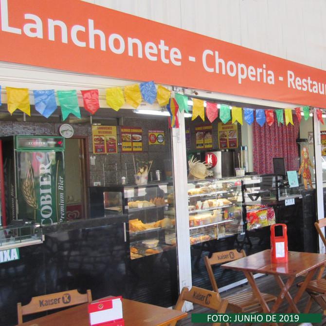 Lanchonete e Choperia Cooperouro funcionando normalmente