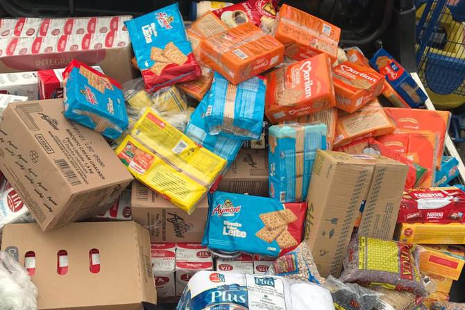 Cooperouro repassa quase meia tonelada de alimentos para o Lar São Vicente de Ouro Preto