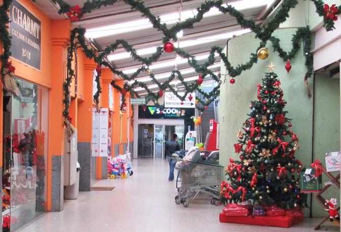 Começou o Natal Solidário Cooperouro