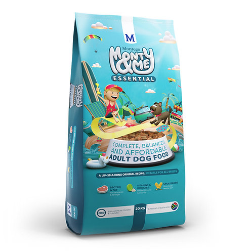 Monty & Me Essential Adult dog food