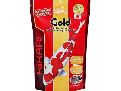 Hikari gold medium floating pellets