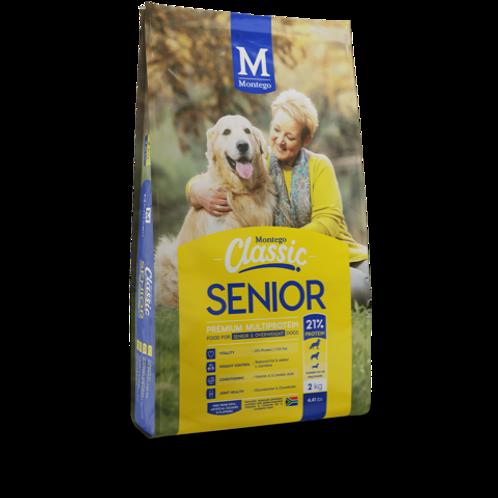 Montego Senior dog food